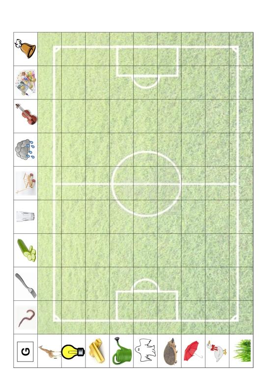 Fußballfeld zur Lautfestigung (G)