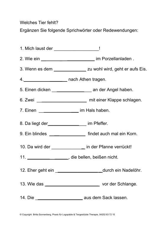 Beste Idiome Arbeitsblatt Fotos - Arbeitsblätter für Kinderarbeit ...