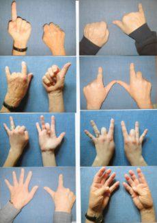Fingerspiel für zwei Hände