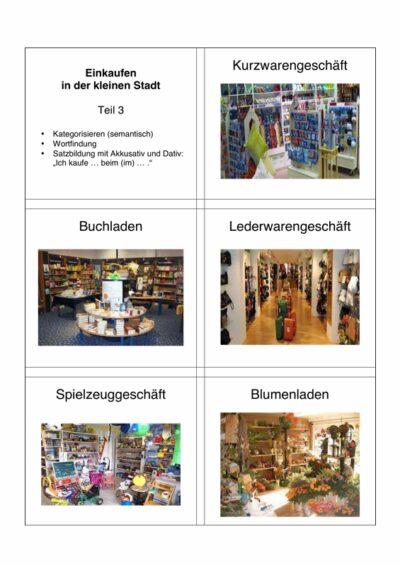 Spiel: Einkaufen Teil 3