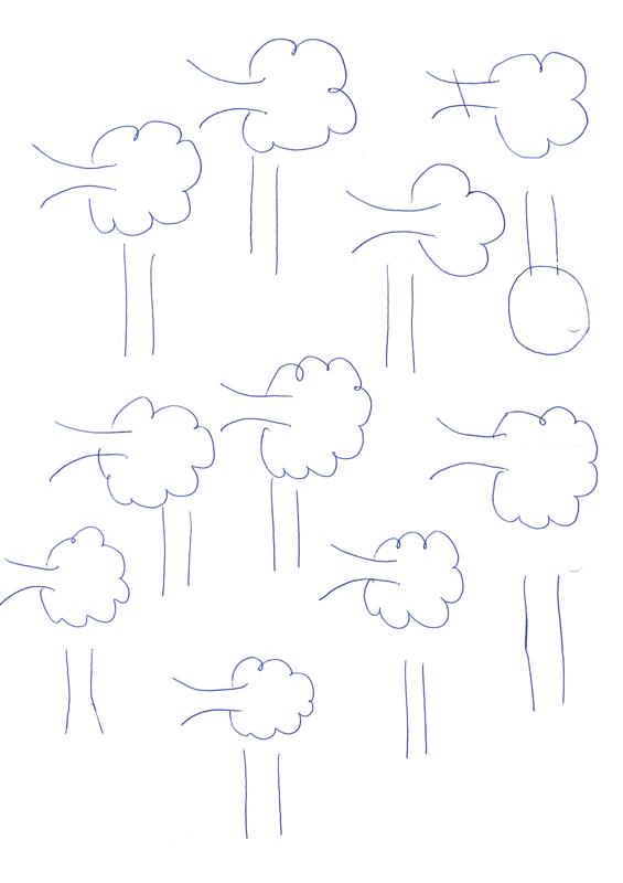Lautebene bei Kappazismus: Bäume fällen