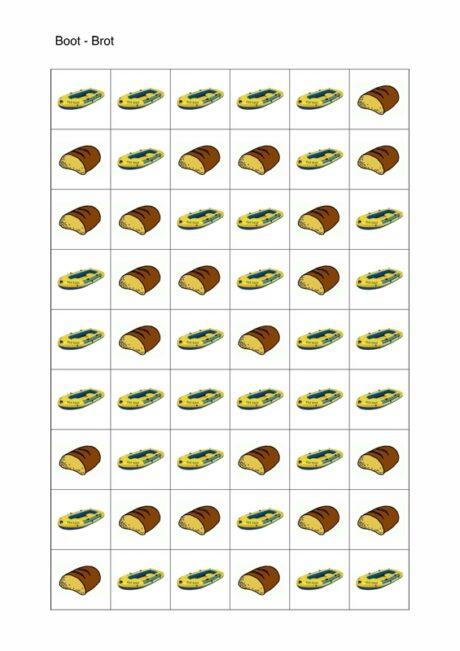Minimalpaar Boot – Brot