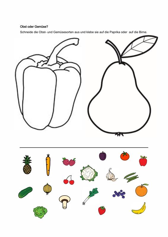 Sammlungen mit Semantik: Obst oder Gemüse? - SES - madoo.net
