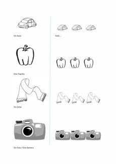 Bilder zur Pluralmarkierung