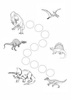 Stempelsammlung Dinos