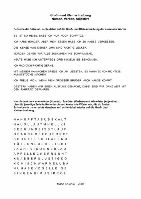 Groß- und Kleinschreibung - LRS - madoo.net