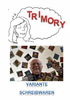 """Spiel: Trimory – Variante """"Schreibwaren"""""""