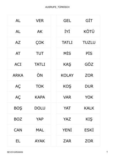 Ausrufe auf türkisch