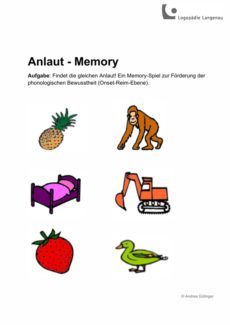 Anlaut-Memory