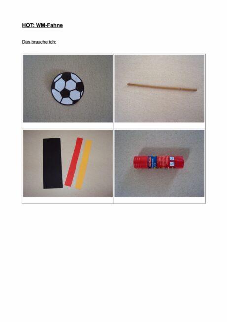 HOT: Fußball-Weltmeisterschaft-Fahne