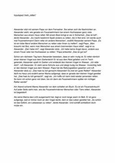 """Inputspezifizierung zum Verb """"retten"""""""