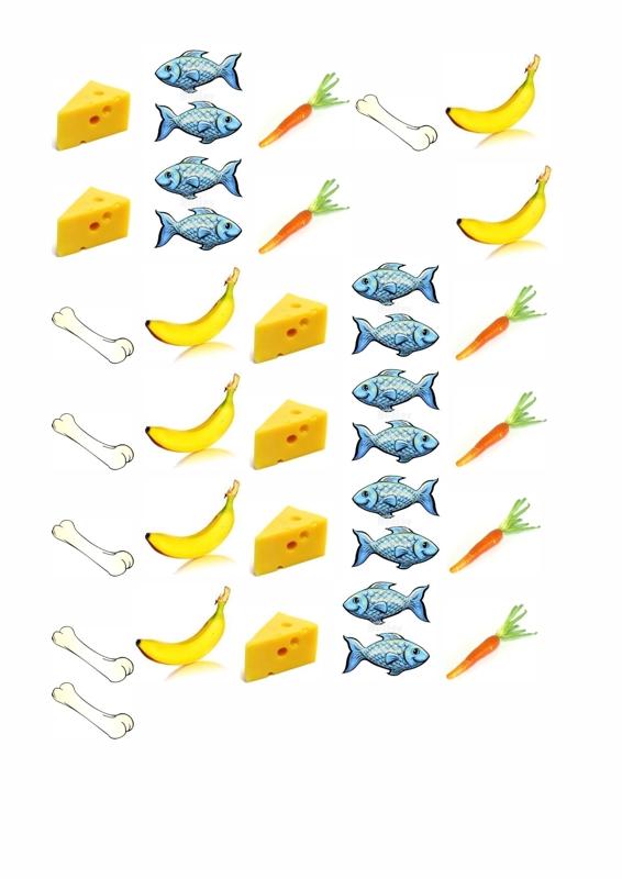 Ansaug-Material Tiere füttern