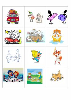 Verben im Kontrast Singular und Plural