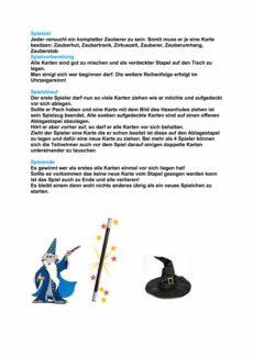 Zauberer – Lautfestigung ts