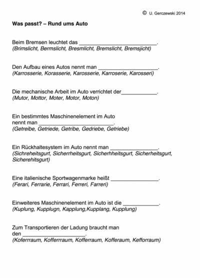 Phonematische Übung (2)