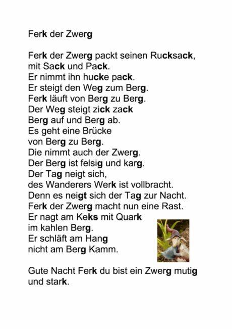 Gedicht Ferk Der Zwerg Stimme Madoo Net