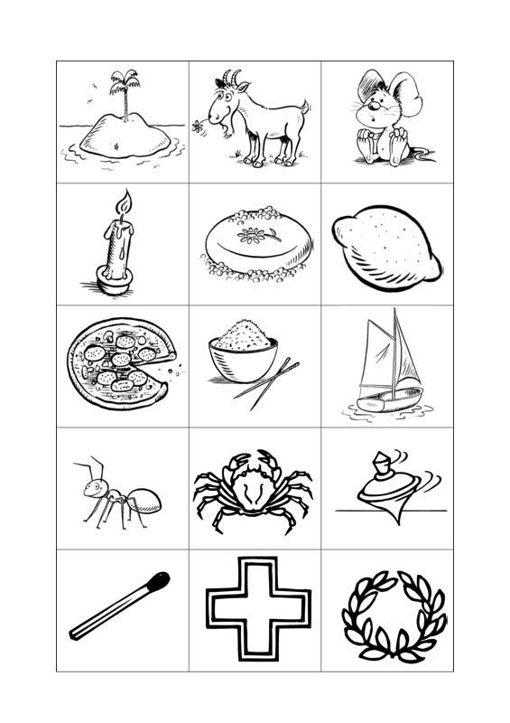 Bildkarten bei Sigmatismus