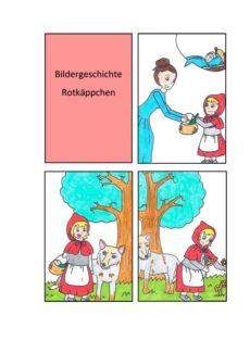 Rotkäppchen Bildergeschichte