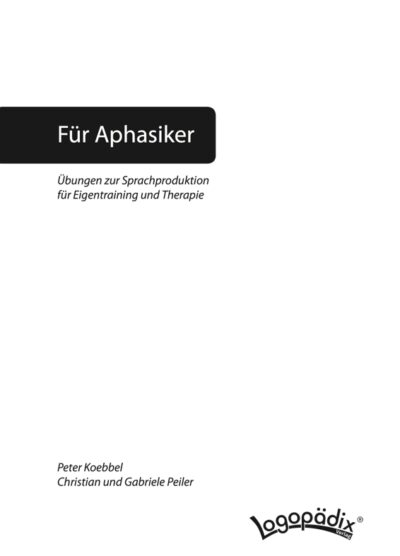 Kopiervorlagen aus: Übungen zur Sprachproduktion
