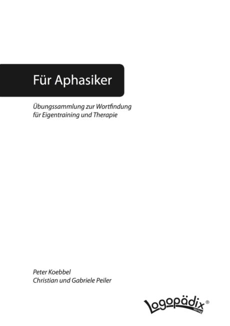 Kopiervorlagen aus: Übungen zur Wortfindung
