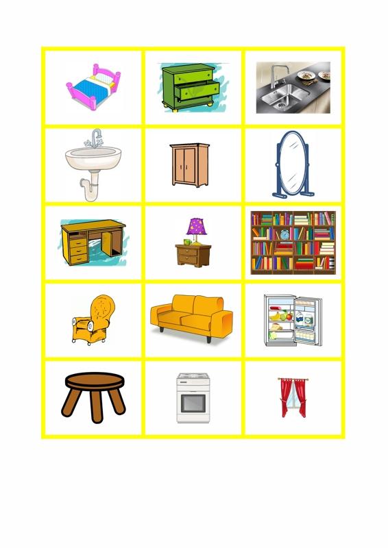 Spiel: Möbel – Rund ums Haus