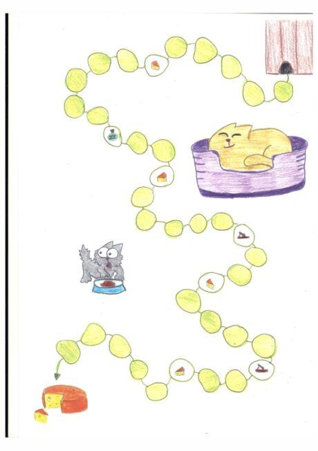 Mäuse-Schleich-Spiel