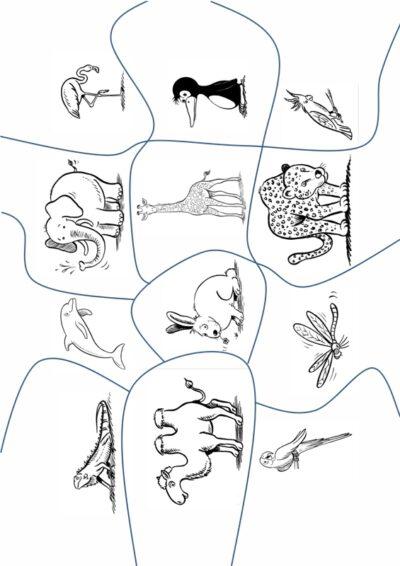 Puzzle zum Silben segmentieren