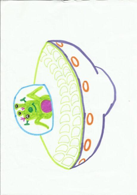 Ansaugspiel UFO