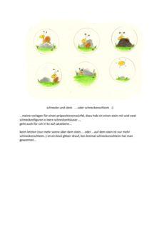 Schnecke und Stein