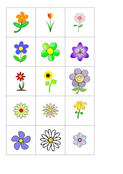 Blumen-Memory