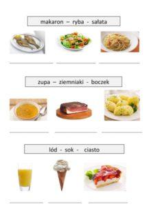 Wortfindung Essen und Trinken auf Polnisch
