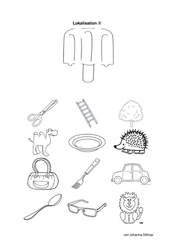 therapiematerial zum thema lambdazismus therapiematerial logop die. Black Bedroom Furniture Sets. Home Design Ideas