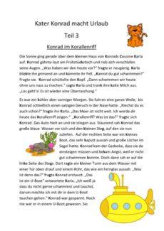 Kater Konrad macht Urlaub Teil 3