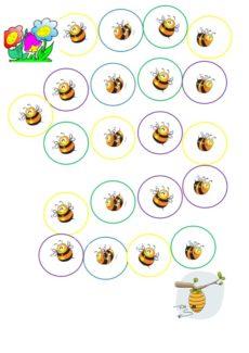 Spielplan Bienen