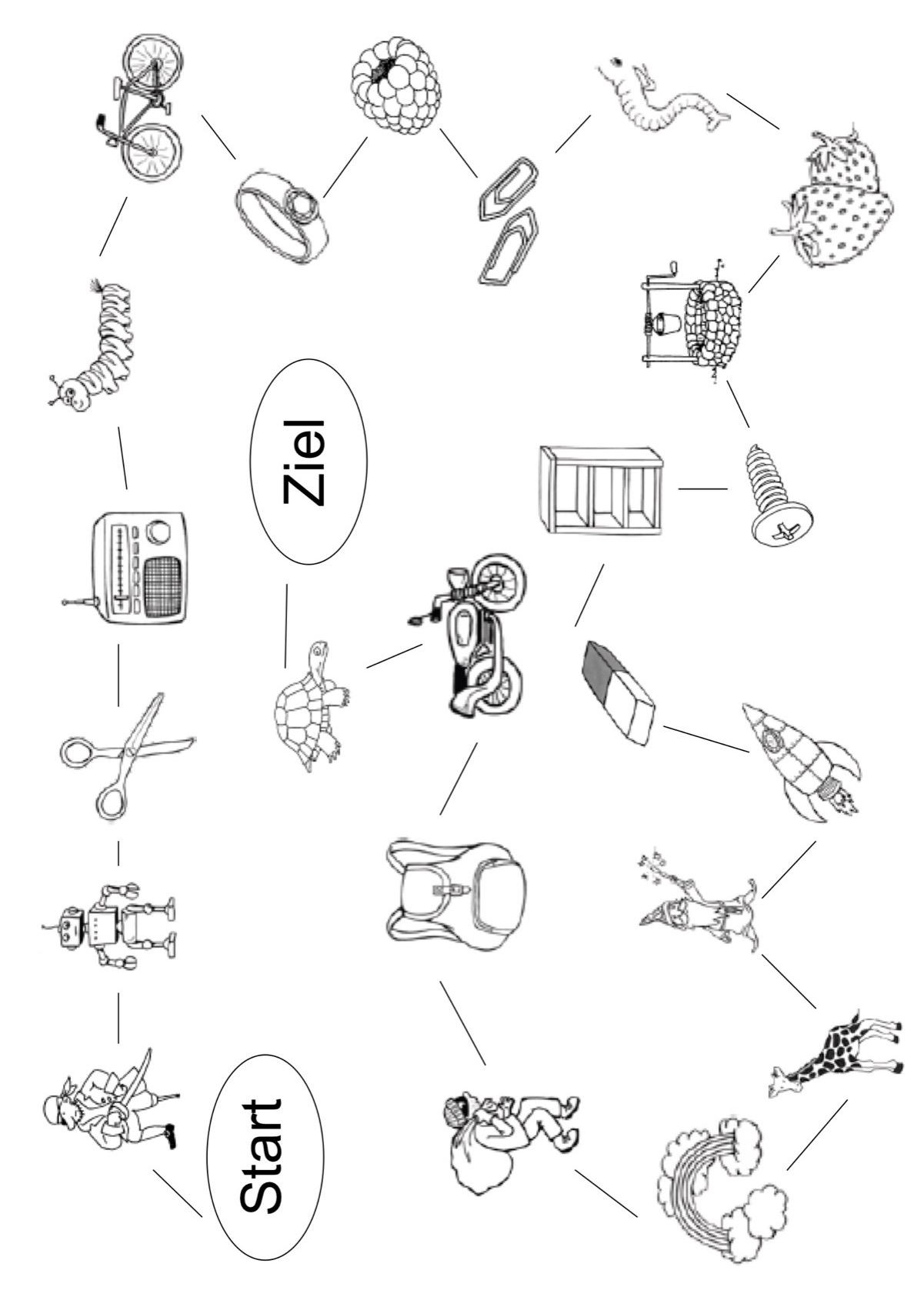 Sammlungen mit Bildkarten [r] in An- und In-Laut - Dyslalie - madoo.net
