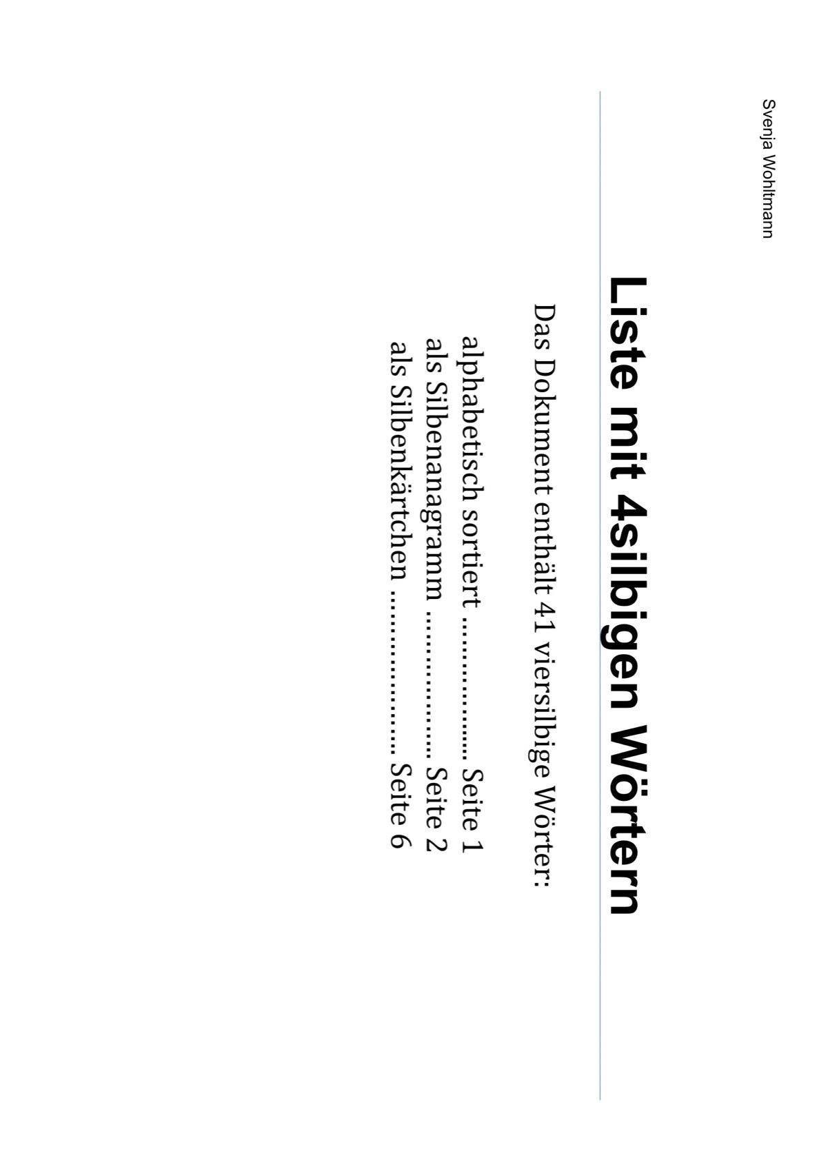 Sammlungen mit Artikulation: schwierige Wörter - Dysarthrophonie ...