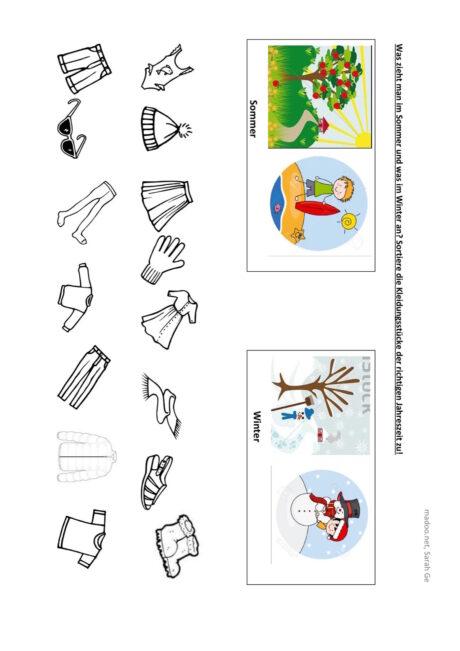 Sortieren nach semantischen Merkmalen (2)