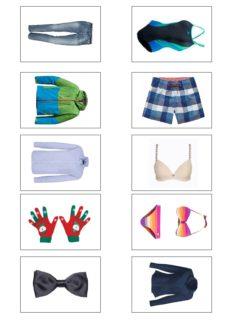 Bildkarten Kleidung (2)