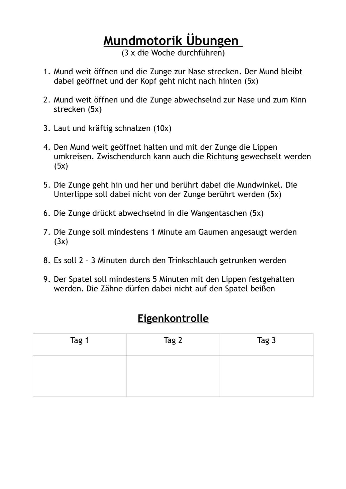 Arbeitsblatt Fehlersuche - LRS - madoo.net