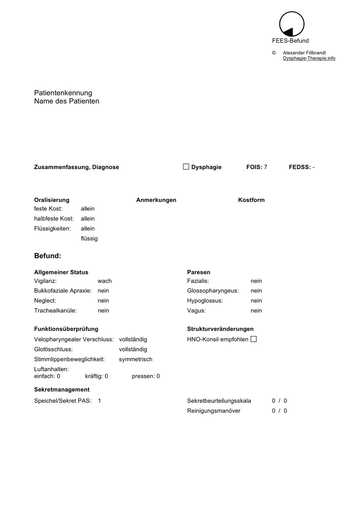Therapiematerial zu Dysphagie - madoo.net
