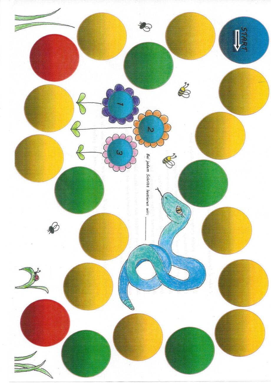 Sigmatismus Schlangenspiel