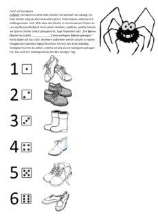 Spinne Charlie – Schetismus auf Satzebene