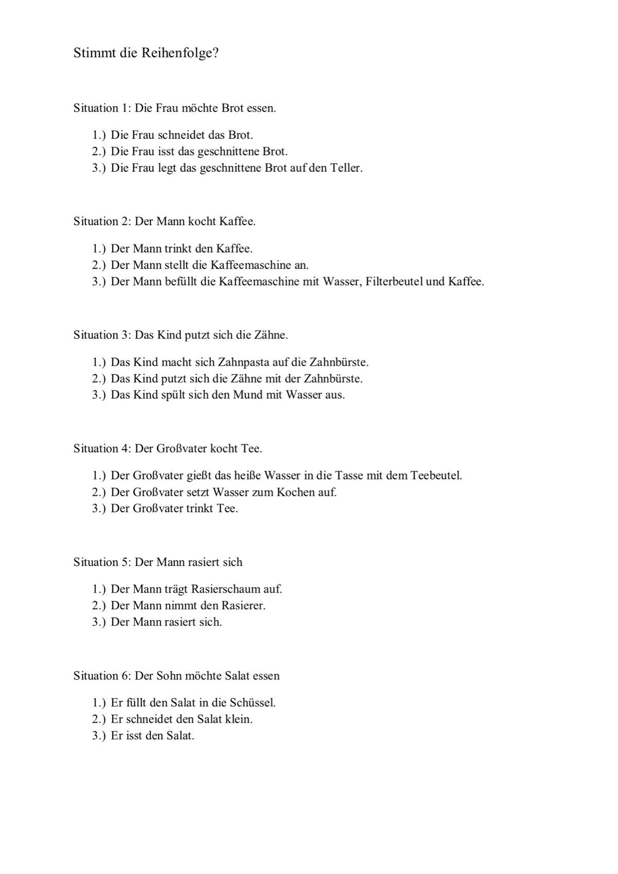 Sammlungen mit Wortfindung im semantischen Feld Herbst - Aphasie ...