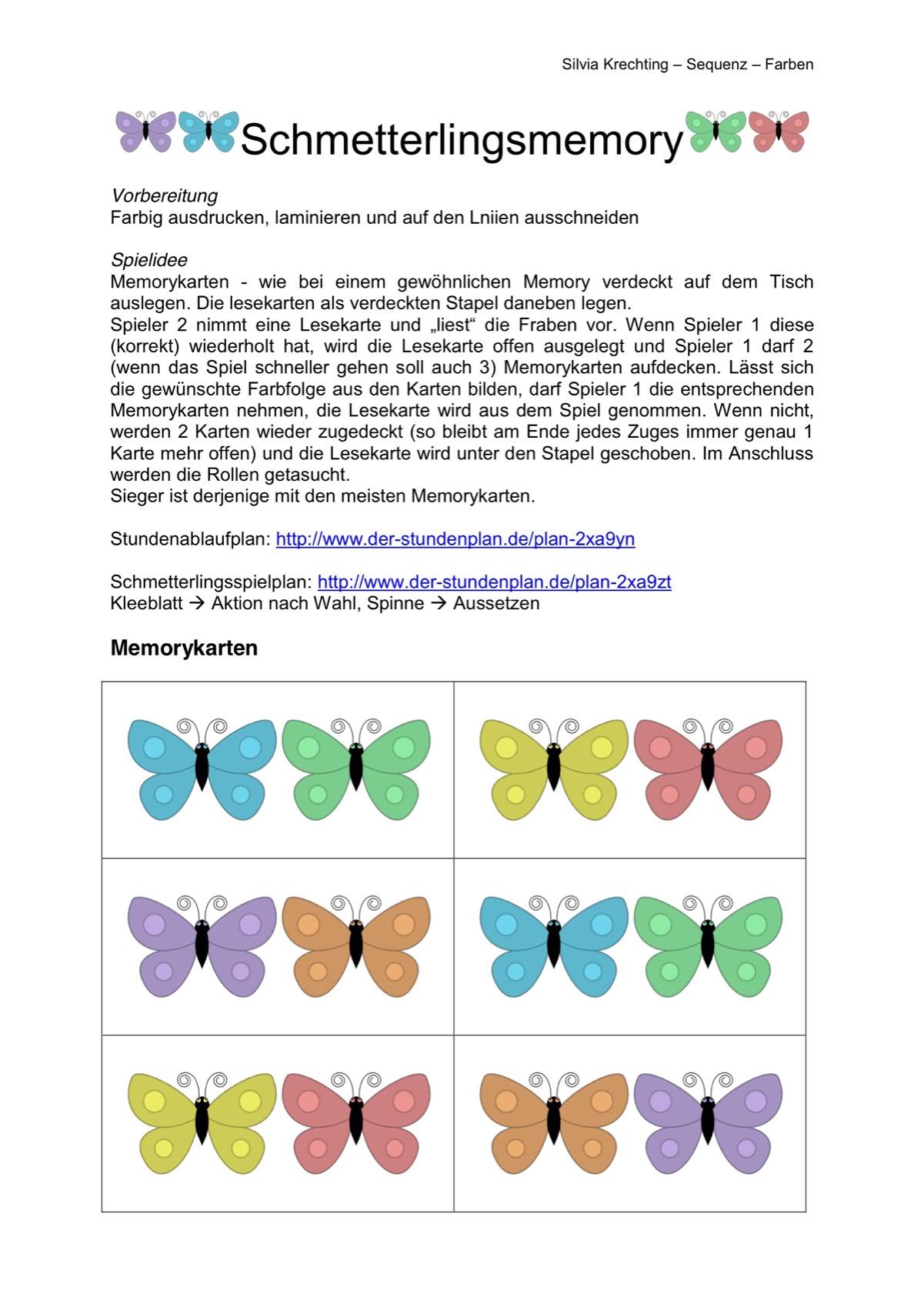 Therapiematerial zum Thema Farben - Therapiematerial Logopädie ...