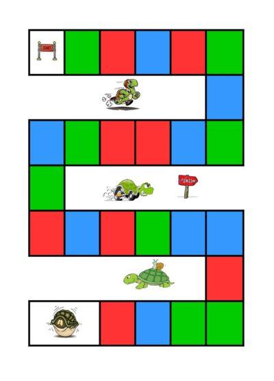 Tabu – Farbwürfel – Spiel