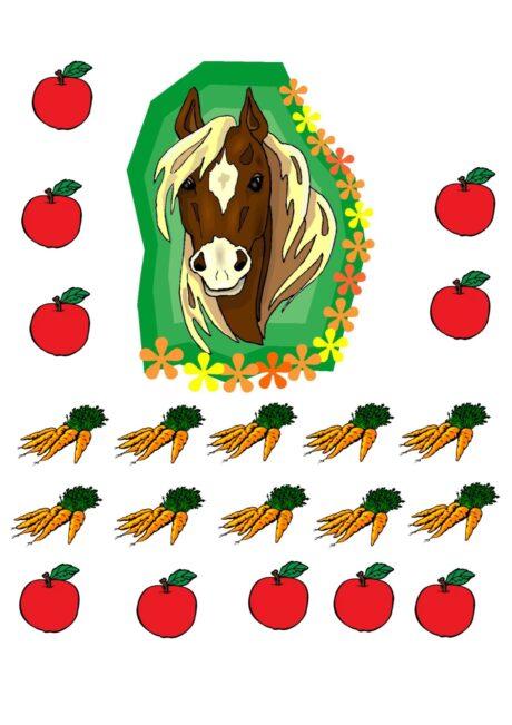 Ansaugspiel Pferd