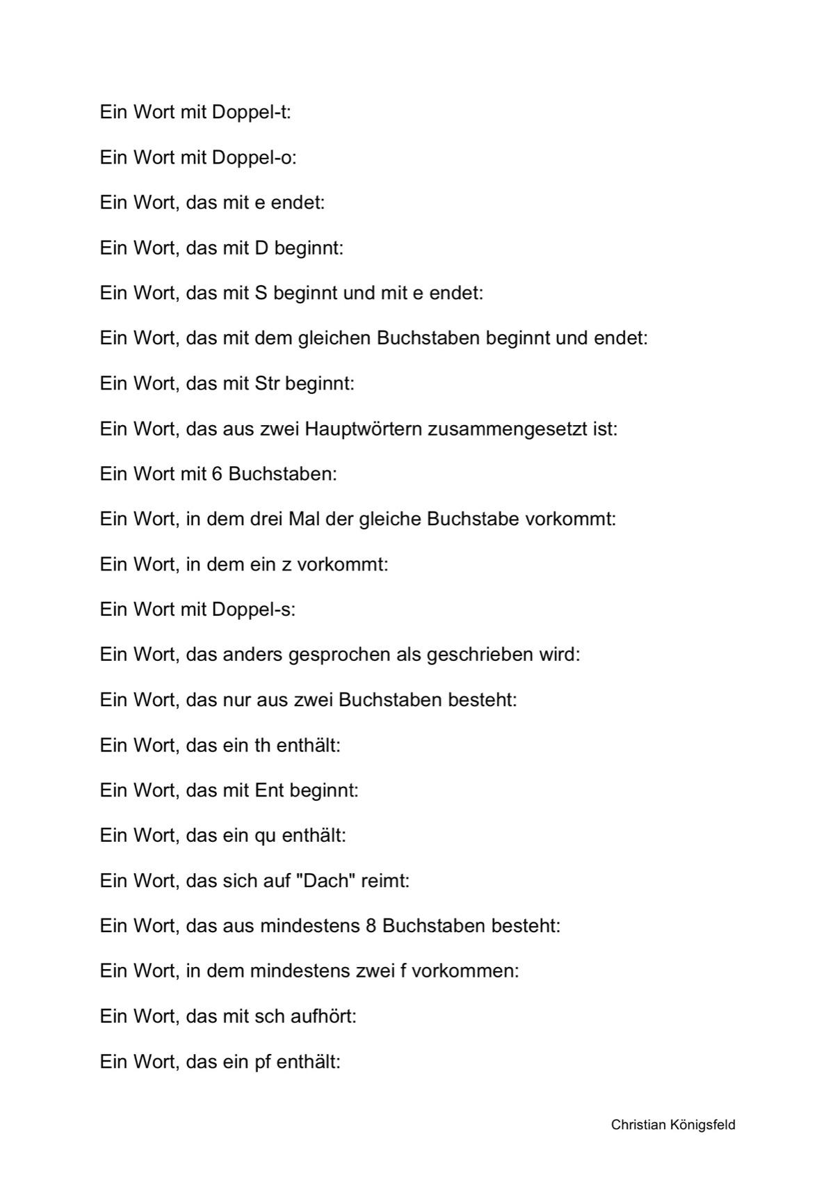 Sammlungen (Seite 2) mit Wortfindung nach formal-lexikalischen ...