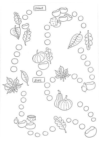 Spielplan Sigmatismus im Herbst