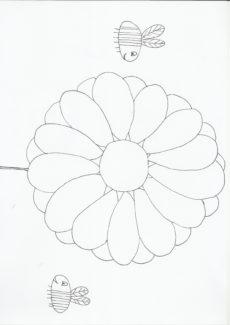 Blume für die Bienen