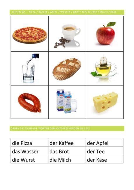 hochfrequente Lebensmittel Teil 1